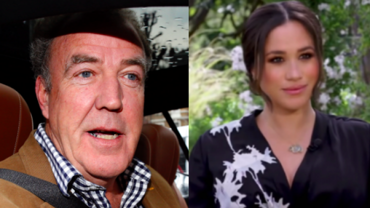 Jeremy Clarkson calls Meghan Markle 'silly little cable TV actress' in defence of Piers Morgan