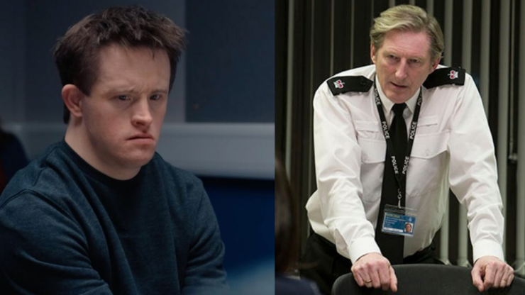 Line Of Duty viewers angered as Ted Hastings' dubs Down's Syndrome character 'oddball'