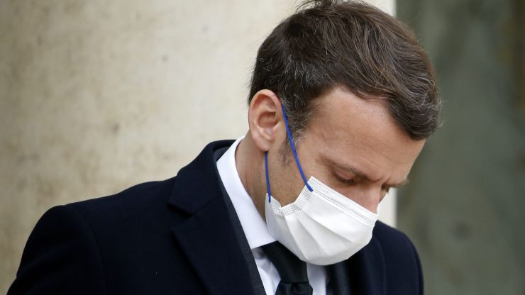 'We didn't shoot for the stars': French president Emmanuel Macron admits EU failures on vaccines after chaotic roll out