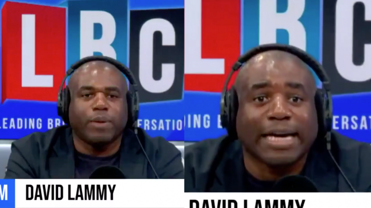 David Lammy dismantles caller's argument after they claim he can never be English