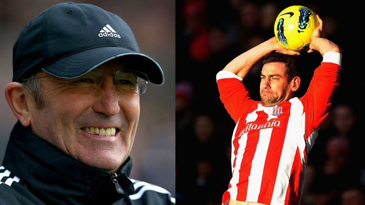 """Tony Pulis was """"like he'd won lottery five times"""" when he discovered Rory Delap's throw"""