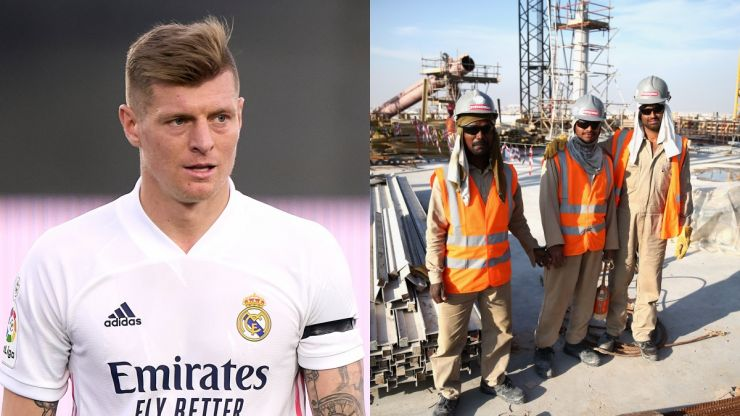Toni Kroos calls Qatar workers' conditions 'absolutely unacceptable'