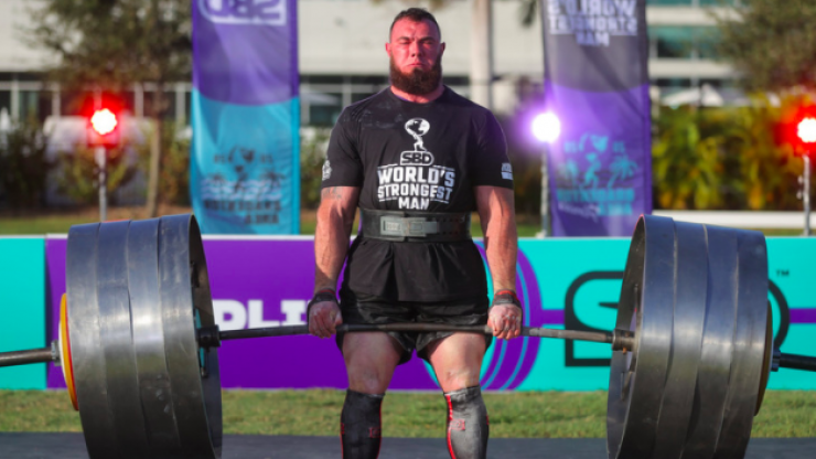 Everything the World's Strongest Man eats in a day to get absolutely jacked