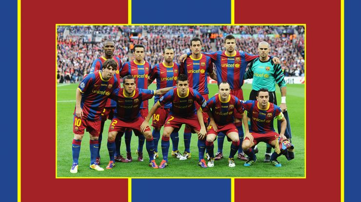 Teammates XI Quiz: Barcelona - 2011 Champions League Final