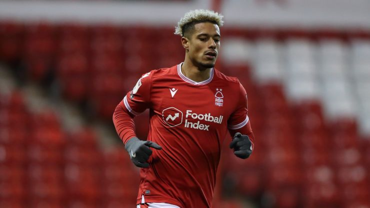 Nottingham Forest striker Lyle Taylor hits out at BLM and taking the knee