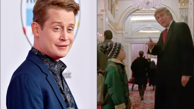Macaulay Culkin calls for Donald Trump cameo to be removed from Home Alone 2
