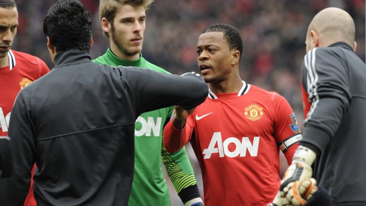 Patrice Evra reveals apology letter from Liverpool as he accuses fans of lacking class