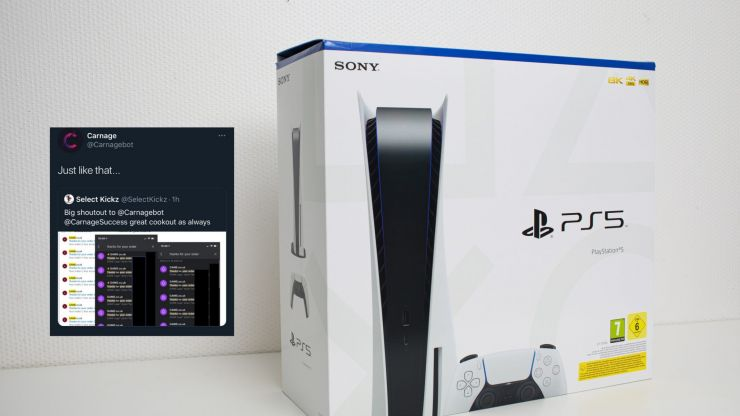 Bots buy thousands of PS5s on day of GAME restock