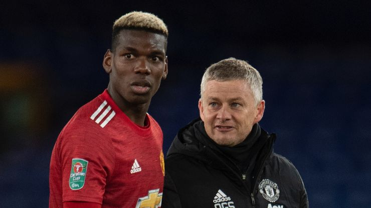 "Ole Gunnar Solskjaer: ""I've never had a problem with Pogba"""