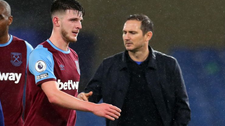How Declan Rice pursuit contributed to Frank Lampard's Chelsea sacking