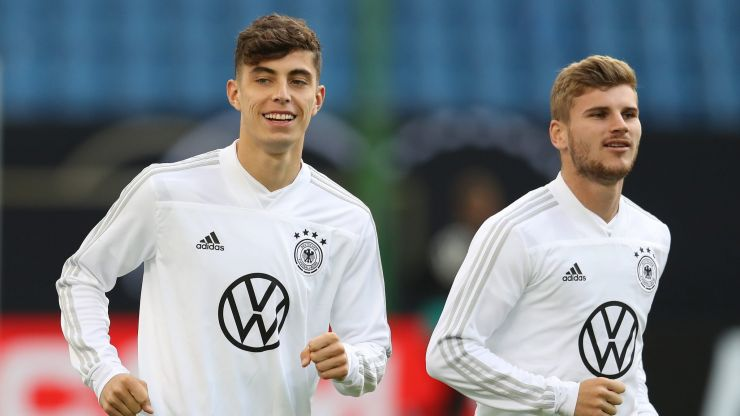 Timo Werner and Kai Havertz subject to abuse from fans after Lampard sacking