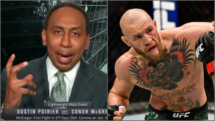 Ignore the bluster, Stephen A. Smith is right about Conor McGregor
