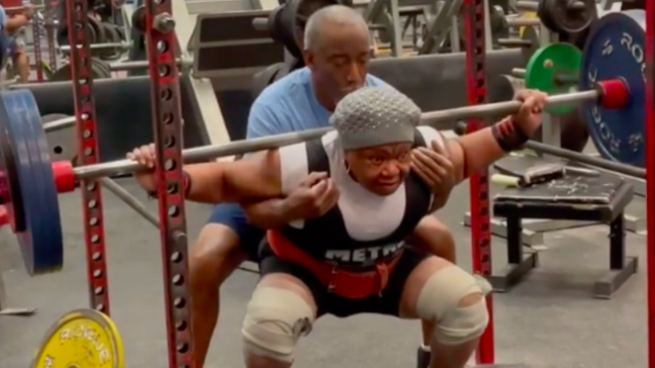 This 78-year-old powerlifting grandma is an inspiration to everyone
