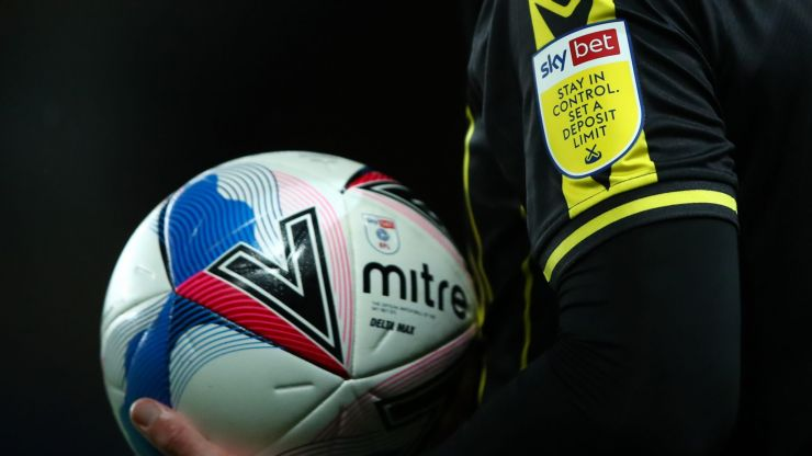 Football clubs facing ban on gambling company shirt sponsors