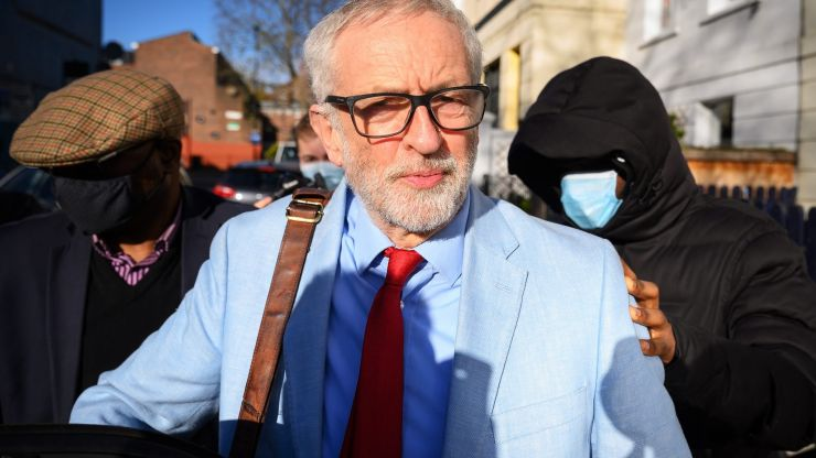 Man sentenced for spitting in Jeremy Corbyn's face during first wave of Covid pandemic