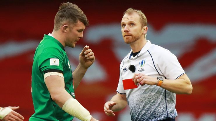 Wayne Barnes' comments show why Peter O'Mahony had to go