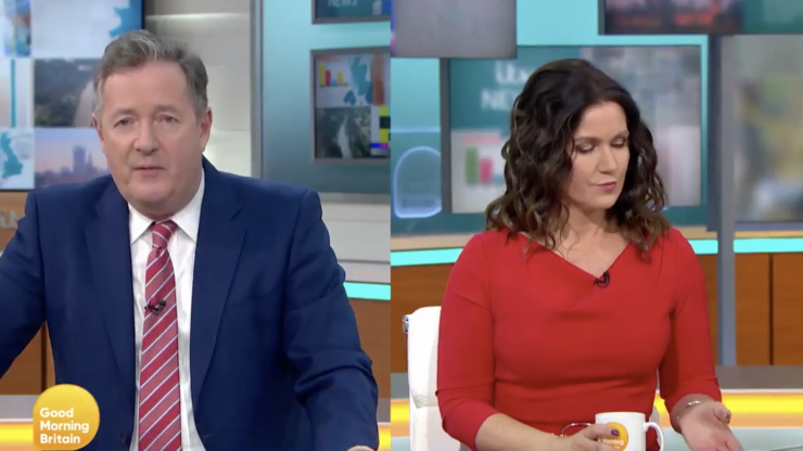 Piers Morgan and Susanna Reid tear into hospitals charging NHS staff £500 for parking