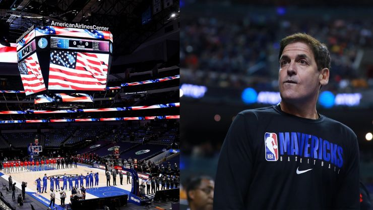 Dallas Mavericks ordered by NBA to play national anthem before games