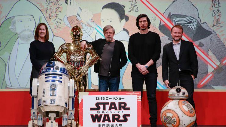 Rian Johnson's Star Wars trilogy is still happening