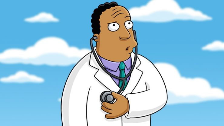 The new voice actor for Dr Hibbert on The Simpsons has been announced