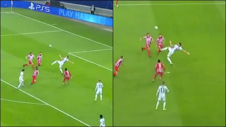 Olivier Giroud scores Puskas-worthy bicycle kick to secure win for Chelsea