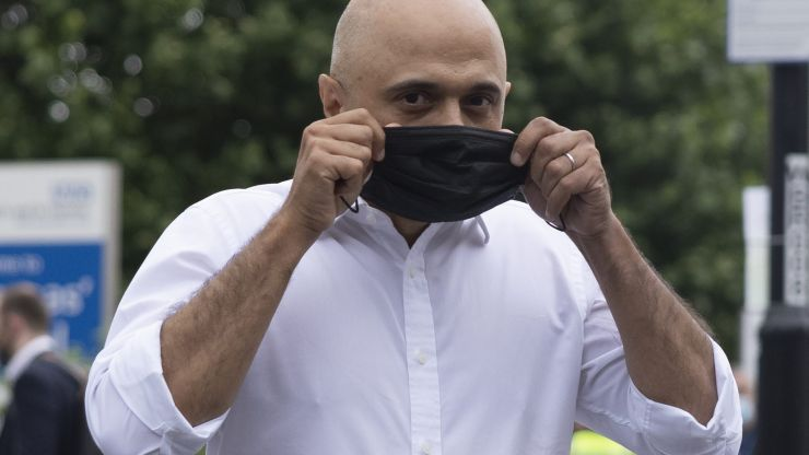 COVID-19: Sajid Javid will continue to carry a face mask after 19 July