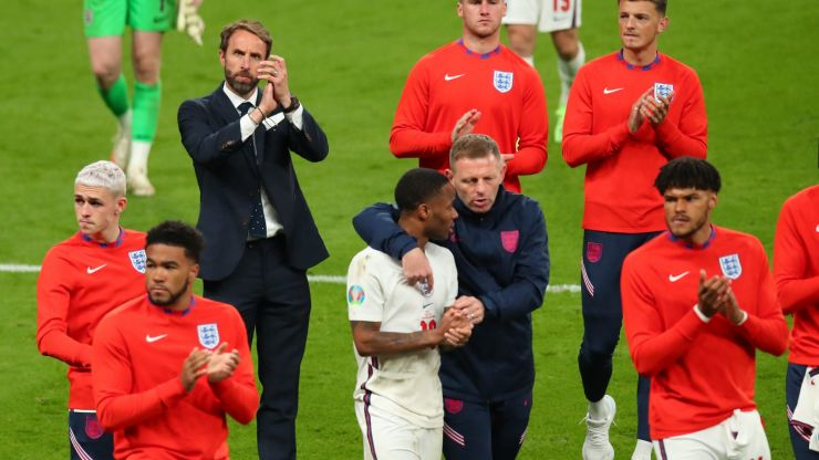 Gareth Southgate says 'my boys brought the country together'