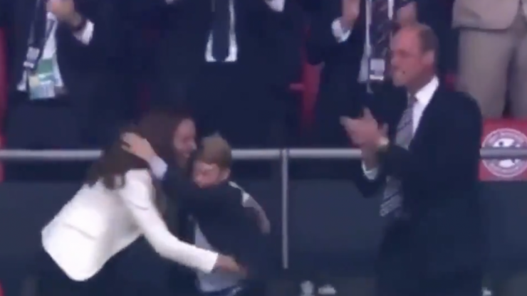 Prince William lost it during England goal celebration and people love it