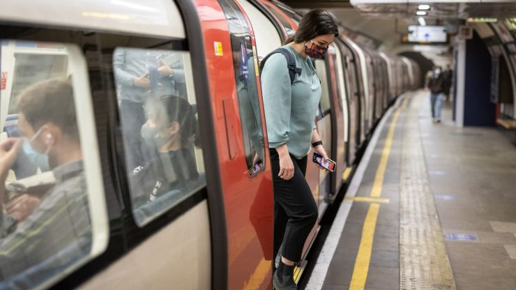 Here's why you still have to wear a mask on London transport services