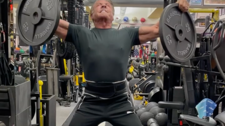 Sylvester Stallone accused of faking insanely difficult workout