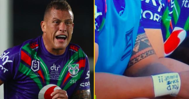 Rugby star fined for sporting 'obscene' message on wrist tape   JOE.co.uk
