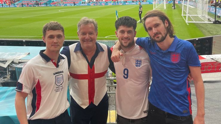 Piers Morgan says he got Covid at Wembley despite already being double jabbed