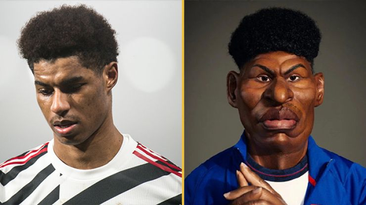 Spitting Image criticised for terrible Marcus Rashford puppet