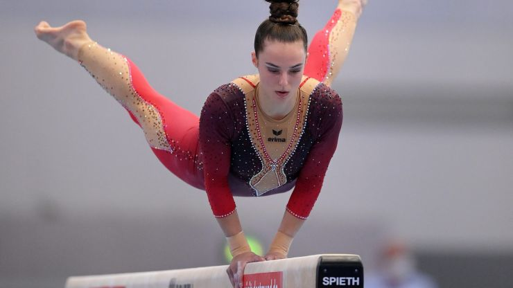 Gymnastics team wear full body suits in protest at 'sexualisation' of their sport