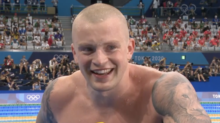Adam Peaty drops F-bomb twice live on BBC interview after gold medal win