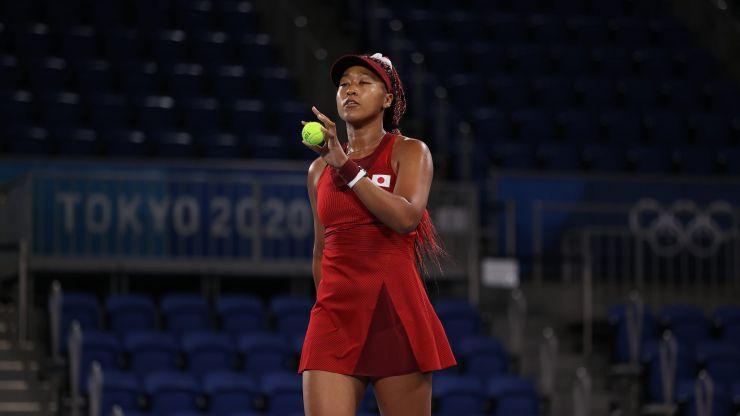 Naomi Osaka out of Tokyo Olympics after shock defeat