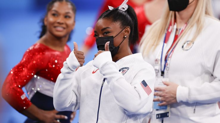 How Simone Biles showed us all how to prioritise our mental health
