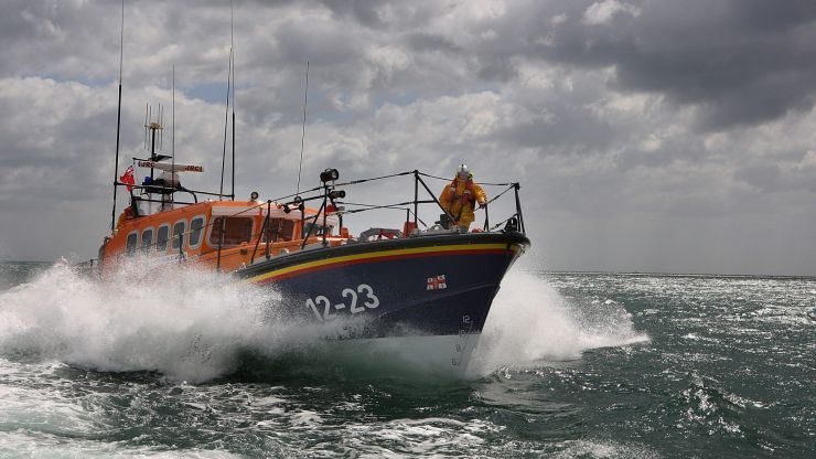 RNLI sees 2,000% daily increase in donations after Farage criticism
