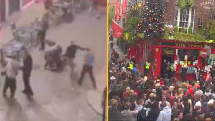 """Protestors call on Dublin Temple Bar pub to """"come out and say sorry"""" over alleged assault"""