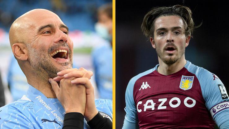 Man City submit English transfer record-shattering bid for Jack Grealish