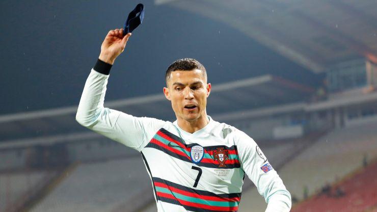 Cristiano Ronaldo's captain's armband bought for £54k by mystery bidder
