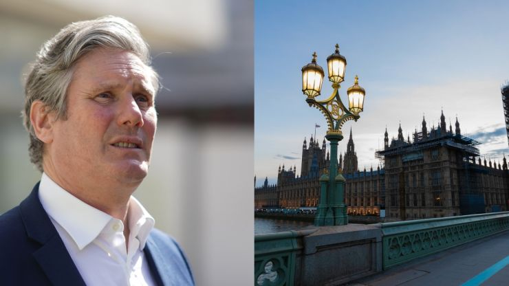 Keir Starmer pledges to clear up corruption in Westminster
