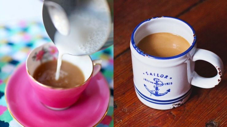 Scientist claims adding milk before water improves the flavour of your tea