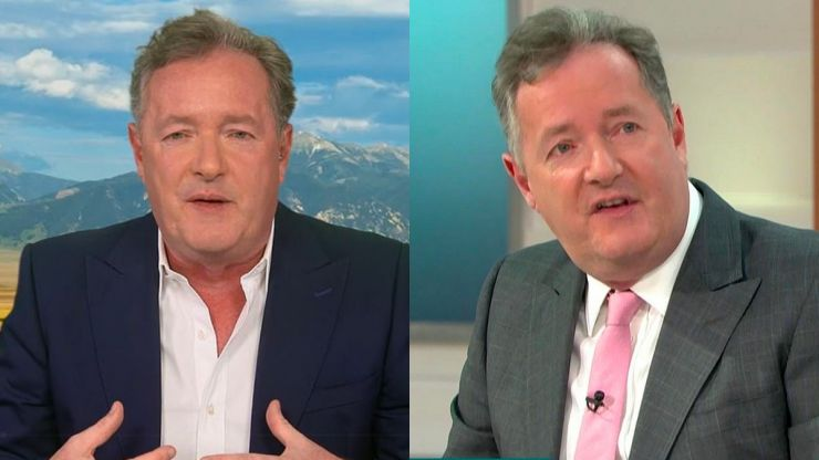 Piers Morgan claims he has the 'universal support' of British public