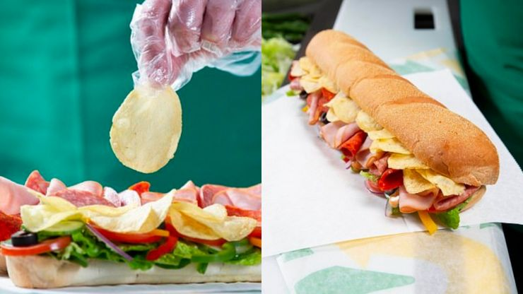 Subway to start selling crisp sandwiches from today