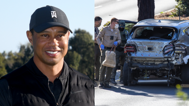 Tiger Woods' car crash caused by excessive speed, police say