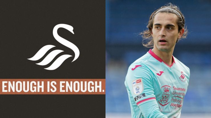 Swansea City announce seven-day social media blackout over racial abuse and discrimination