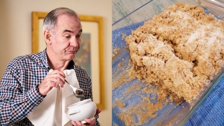 Friday Night Dinner fans have crumble in honour of Paul Ritter