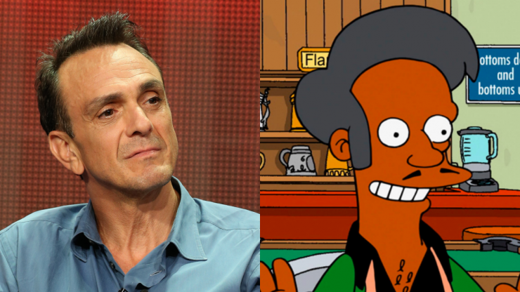 Hank Azaria 'feels he needs to apologise to every Indian' for playing Apu