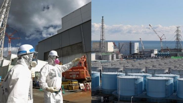 Japan approves dump of one million tonnes of radioactive water into ocean